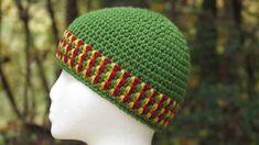 Spiked Mesh Stitch Hat (Crochet)