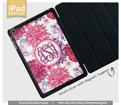 IPad Case iPad Mini Case iPad Air Case Monogram by simplymonogram