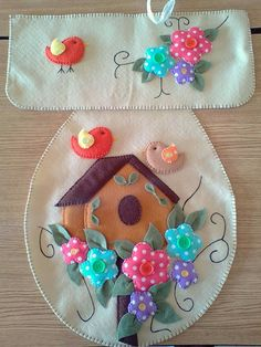 Felt Crafts Patterns, Felt Ornaments, Christmas Ornaments, Sewing Aprons, Christmas Makes, Crochet For Kids, Shabby Chic Decor, Soft Furnishings, Applique