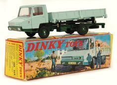 French Dinky 569 Berliet Stradair Side Tipper