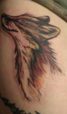 fox tattoo- OMG I love this!!! looks so happy