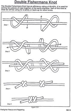 Knots to use in necklace and other jewelry.