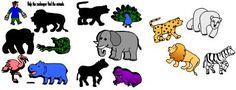 Shadow Match File Folder Fun for Polar Bear Polar Bear from Making Learning Fun.