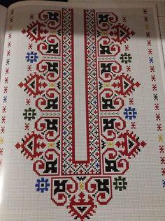 Cross Stitch Geometric, Cross Stitch Borders, Cross Stitch Flowers, Cross Stitch Designs, Cross Stitching, Cross Stitch Patterns, Folk Embroidery, Cross Stitch Embroidery, Embroidery Patterns