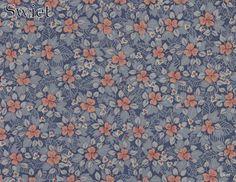 Jeans blauwe mini bloemetjes | Swiet