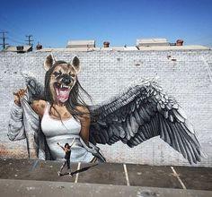Street Art 360 on Murals Street Art, 3d Street Art, Urban Street Art, Amazing Street Art, Street Art Graffiti, Mural Art, Street Artists, Banksy, Photographie Street Art