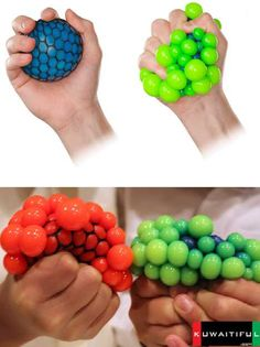 Infectious Disease Stress Balls will either help reduce your unreasonable germ paranoia or have the opposite effect. Available in a number of fanciful color and disease combinations including Bubonic Plague (blue/green), Cooties (red), Smallpox (green/orange) and Zombie Virus (red/green), these cool yet gross squeeze toys are a great gift for germaphobes you intensely dislike.