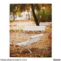 Paisaje urbano en otoño rompecabeza