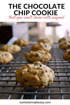 The perfect nutty chocolate chip cookies! They are called Cowboy Cookies, will…