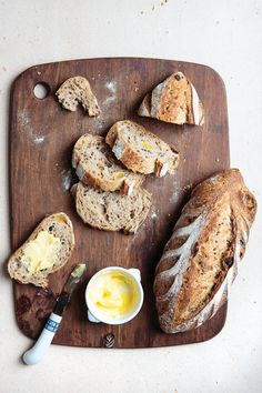 Flax seeds and red quinoa add texture and a nutty flavor, while honey and raisins add sweetness, to this hearty bread from master baker Eric Kayser.