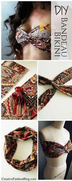 10485886434d DIY Bandeau Bikini Before Your Next Vacation
