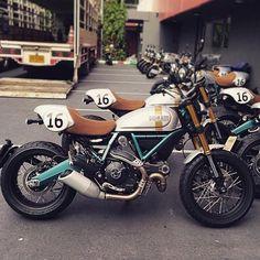 Ducati from The Black Workshop Ducati Scrambler Custom, Scrambler Icon, Bobber Custom, Scrambler Motorcycle, Custom Bikes, Custom Motorcycles, Tracker Motorcycle, Motorcycle Wheels, Classic Motorcycle