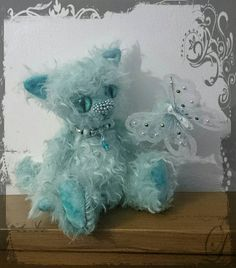 Hey, I found this really awesome Etsy listing at https://www.etsy.com/uk/listing/534561193/smitten-kitten-teal-mohair-kitty-cat