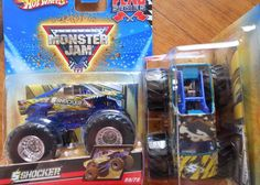 2010 Shocker #59 Hot Wheels Monster Jam Truck flag series 1:64 scale  #HotWheels #diecast Monster Jam, Monster Trucks, Hot Wheels, Diecast, Scale, Flag, Batman, Weighing Scale, Science