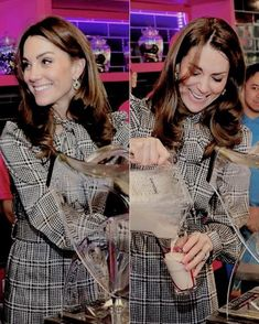 """thecambridgees: """""""" The Duchess of Cambridge helps make Kulfi milkshakes at MyLahore in Bradford. MyLahore is a British Asian restaurant chain which has taken inspiration from Lahore, the Food. Duchess Kate, Duke And Duchess, Duchess Of Cambridge, Middleton Family, Kate Middleton, Prince William And Kate, William Kate, Lady Diana, British Asian"""