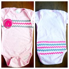 DIY baby onesie