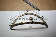 Pequeñas creaciones by Nika: Parte 1 Crear un patrón de bolso con boquilla
