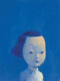 BLUE, artist Liu Ye (刘野; b1964, Beijing, China)