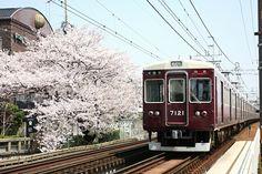 大阪 阪急電車 #Osaka #Japan #traffic Osaka Japan traffic