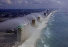 cloudtsunami at the shores of Florida
