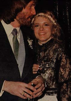 Mr and Mrs Anderson ~ Kim and his brand-new wife, Stevie  ~ ☆♥❤♥☆ ~  they were married on January 29th, 1983