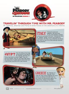 Traveling Through Time with Mr. Peabody and Sherman