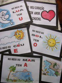 Sugestões de atividades e jogos para professores que trabalham com crianças no início da alfabetização.