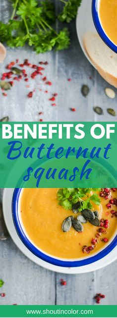 Butternut squash - Paleo friendly, superfood, high in vitamins and antioxidants. Gluten and grain free squash Lunch Recipes, Low Carb Recipes, Breakfast Recipes, Dinner Recipes, Healthy Recipes, Butternut Squash Benefits, Different Diets, Herbs For Health, Roasted Squash