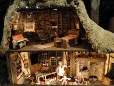 Rustic dollhouse ~ Taiwan Miniatures Museum