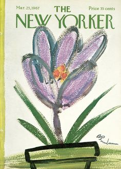The New Yorker - Saturday, March 25, 1967 - Issue # 2197 - Vol. 43 - N° 5 - Cover by : Abe Bimbaum