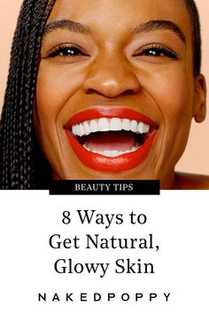 Everyone wants radiant, luminous skin – but not everyone naturally has it. Here are 8 easy ways for you to get the glow you're going for. Skin Tips, Skin Care Tips, Clean Beauty, Beauty Tips, Beauty Hacks, Beauty Ideas, Beauty Secrets, Glowy Skin, Dull Skin