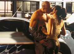 Dominic Toretto and Letty, The Fast and the Furious from The 59 Best Movie Couples of All Time They've lasted through how many installments of the hit action franchise? It must be true love. Vin Diesel, Letty Fast And Furious, The Furious, Best Movie Couples, Cute Couples, Michelle Rodriguez, Dom And Letty, Furious Movie, Film Serie