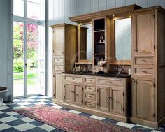 Badkamerkast Landelijke Stijl : Best badkamers landelijke rustieke cottage badkamermeubelen