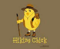 Hiking chic