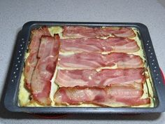 Quiche, Pasta Carbonara, Tuna, Bacon, Deserts, Dessert Recipes, Fish, Meat, Cooking