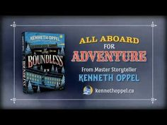 ▶ THE BOUNDLESS by Kenneth Oppel | Book Trailer (Middle-Grade Fiction: Fantasy/Adventure)