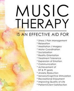 Music therapy allows feelings to be revealed that may not come forth in traditional talk therapy( Long & Young, 2007).