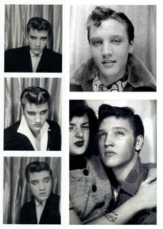 Vintage, where it all started. Elvis, the king in the photo booth. Classic, love it. #photobooth #elvis