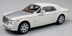 Superb KYOSHO #Rolls Royce Phantom Coupe English White 1:18**New Release** https://www.minitoycars.com/product/kyosho-rolls-royce-phantom-coupe-english-white-118new-release/ #ToyCars #Diecast