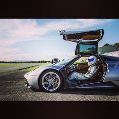 Top Gear's Legendary Stig & Pagani Huarya