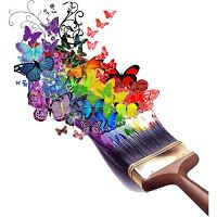 Paint your rainbow bright Photo D Art, Foto Art, Taste The Rainbow, Over The Rainbow, World Of Color, Color Of Life, Rainbow Connection, Butterfly Art, Rainbow Butterfly