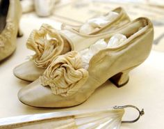 late 1800's wedding shoes