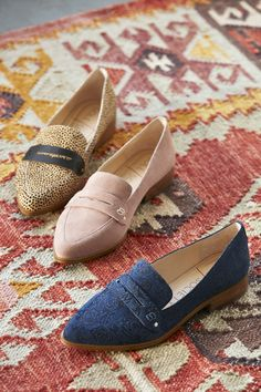 Pointed toe flat with menswear details | Sole Society Jessica