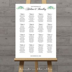 Wedding ceremony seating chart large portrait elegant sign printable guest list white background script customized PDF DIGITAL by HandsInTheAttic Wedding Ceremony Seating, Reception Seating, Seating Chart Wedding, Wedding Ceremonies, Reception Ideas, Wedding Reception, Chalkboard Seating Charts, Table Seating Chart, Large Chalkboard