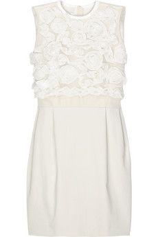 Carven Rosette shift dress | NET-A-PORTER