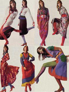 Shelley-Duvall via Style Bubble 60s And 70s Fashion, Seventies Fashion, Retro Fashion, Vintage Fashion, Retro Aesthetic, Costume, Looks Vintage, Looks Cool, Fashion Photography