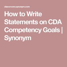 competency goal 6 essay Competency statement 5 9-6-2009 check out our top free essays on competency goal 5 to help you write your own essay introduces student to cda competency goal 5 essays crime scene technology, procedures for sketching, diagramming and using casting mla format movie title in essay materials.