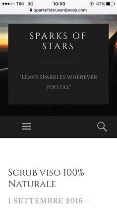 Ecco a voi il post di oggi, correte a leggerlo | New post is online, Go Go GO  https://sparkofstar.wordpress.com