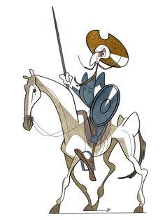"Joaquín Aldeguer: ""Don Quijote""."