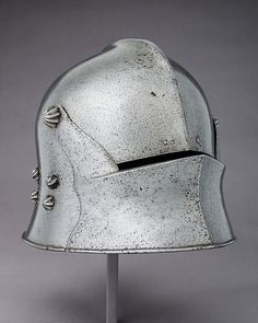 Sallet Date: 1475 Culture: German Medium: Steel Dimensions: H. 10 1/2 in. (26.7 cm); W. 9 1/4 in. (23.5 cm); D. 15 1/4 in. (38.7 cm); Wt. 7 lb. 2.1 oz. (3234.7 g) Classification: Helmets Credit Line: Bashford Dean Memorial Collection, Funds from various donors, 1929 Accession Number: 29.158.10